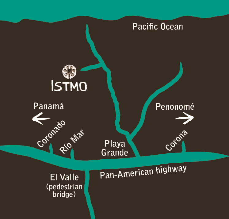 Direction to Istmo Yoga and Adventure Retreat