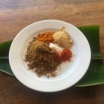 Delicious Tropical Fusion Vegetarian Food.